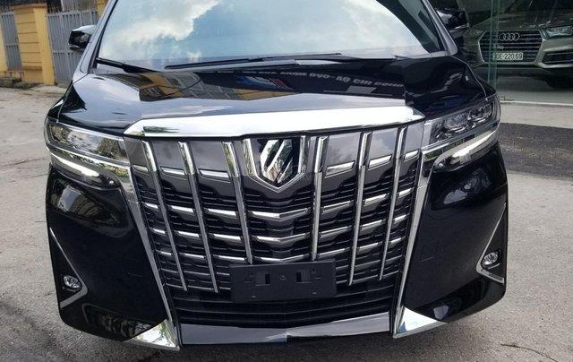 Cần bán Toyota Alphard sản xuất 2019, màu đen, nhập khẩu5