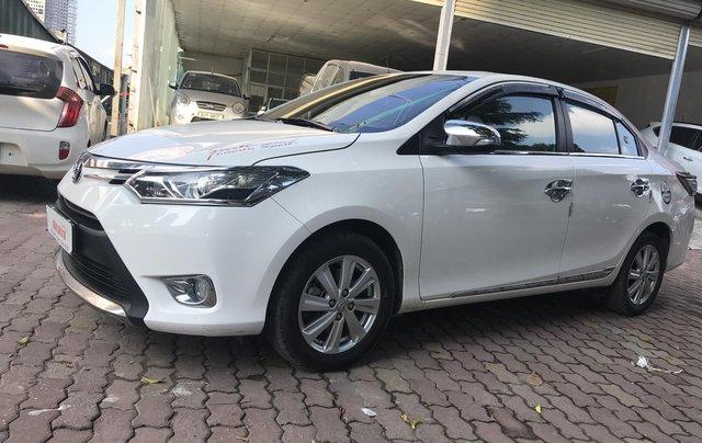 Bán Toyota Vios 1.5G 2017, màu trắng0