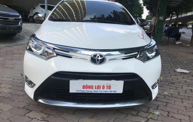 Bán Toyota Vios 1.5G 2017, màu trắng1