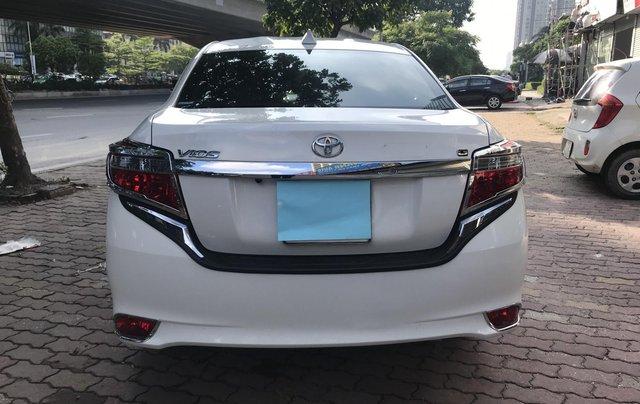 Bán Toyota Vios 1.5G 2017, màu trắng4
