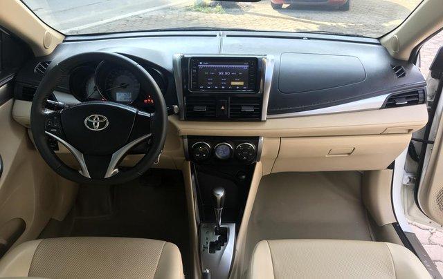 Bán Toyota Vios 1.5G 2017, màu trắng8