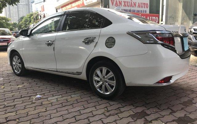 Bán Toyota Vios 1.5G 2017, màu trắng5