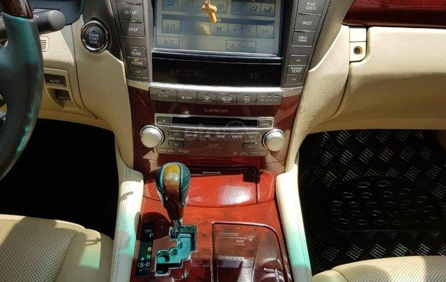 Bán xe lexus LS460L sản xuất 2010 màu trắng, 5 ghế có matxa, rada, nâng hạ gầm3