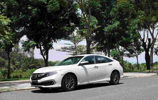 Bán xe Honda Civic G trắng 2019, Giá cực tốt, vay ngân hàng bao đậu, tặng tiền và phụ kiện khủng1