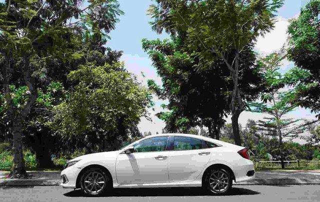Bán xe Honda Civic G trắng 2019, Giá cực tốt, vay ngân hàng bao đậu, tặng tiền và phụ kiện khủng2