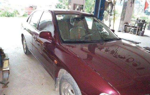 Cần bán lại xe Mitsubishi Lancer sản xuất 2001, màu đỏ, xe nhập0