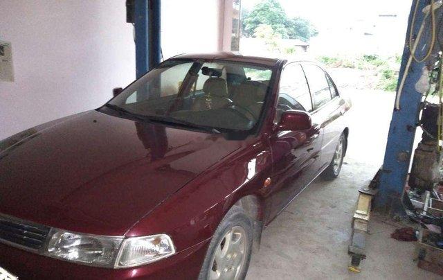 Cần bán lại xe Mitsubishi Lancer sản xuất 2001, màu đỏ, xe nhập5