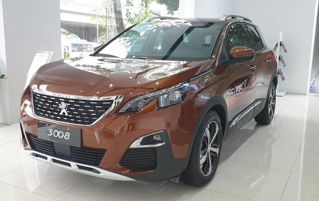 Miền Bắc - Peugeot 3008 AT - ưu đãi nhất trong năm + tặng phụ kiện + bảo hành 5 năm0