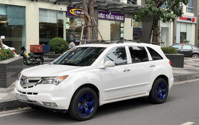 Bán xe Acura MDX 2008 màu trắng, còn rất mới giá cực tốt0