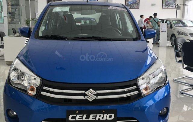 Giảm giá cuối năm chiếc xe  Suzuki Celerio đời 2019, màu xanh lam, nhập khẩu - Giá cả canh tranh - Giao nhanh toàn quốc0