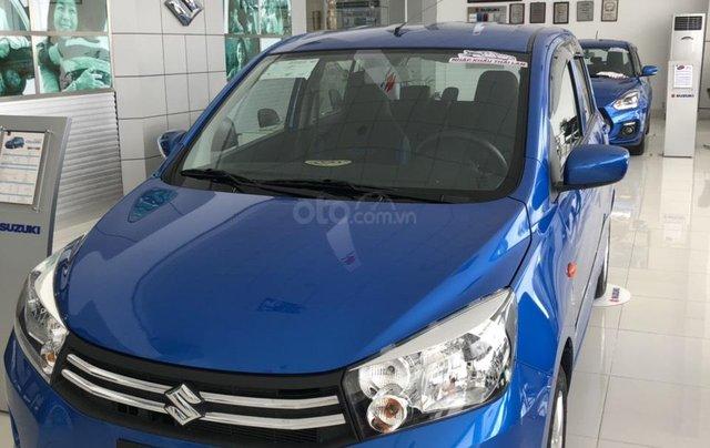 Giảm giá cuối năm chiếc xe  Suzuki Celerio đời 2019, màu xanh lam, nhập khẩu - Giá cả canh tranh - Giao nhanh toàn quốc1