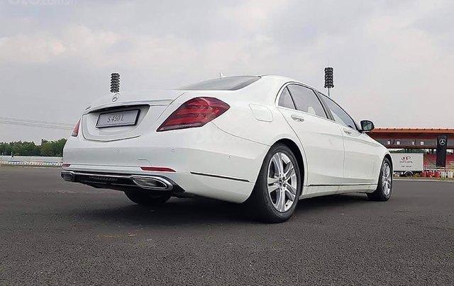 Cần bán xe Mercedes S450L năm 2019, màu trắng1