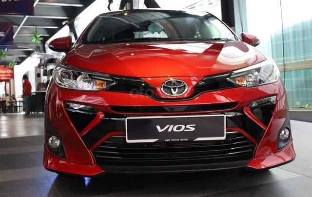 Toyota Vios đời 2019 giá cực tốt, giao xe ngay, hỗ trợ trả góp lên tới 85% giá trị xe0