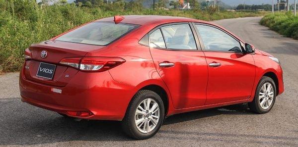 Toyota Vios đời 2019 giá cực tốt, giao xe ngay, hỗ trợ trả góp lên tới 85% giá trị xe4