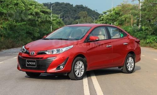 Toyota Vios đời 2019 giá cực tốt, giao xe ngay, hỗ trợ trả góp lên tới 85% giá trị xe5
