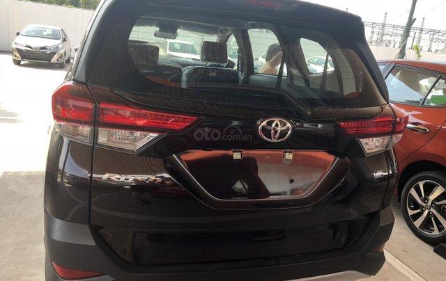 Bán Toyota Rush 1.5S AT năm 2019, màu đỏ, xe nhập, thanh toán 250tr nhận xe2