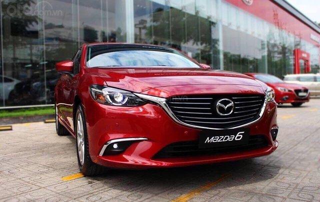 Bán Mazda 6 ưu đãi tốt - trả trước 270tr - gói BD 50.000km0