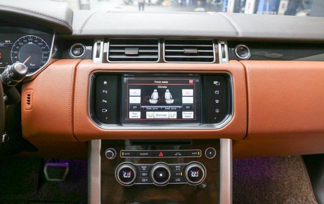 Bán LandRover Range Rover SV Autobiography 5.0 đời 2016, hai màu xám đen12