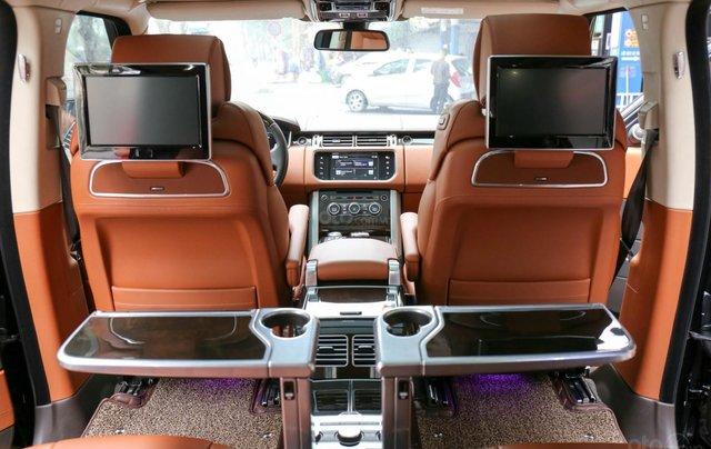 Bán LandRover Range Rover SV Autobiography 5.0 đời 2016, hai màu xám đen7