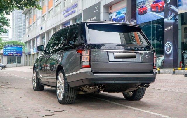Bán LandRover Range Rover SV Autobiography 5.0 đời 2016, hai màu xám đen13