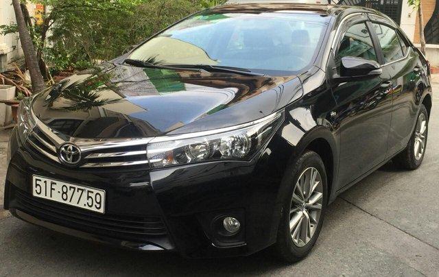 Bán xe Toyota Corolla Altis 1.8G 2017, màu đen. Liên hệ 0913715808 Thanh1