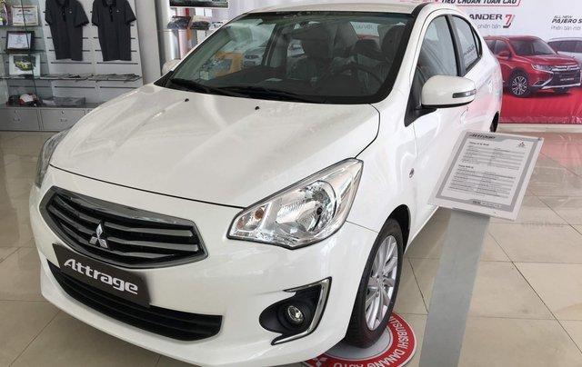 Bán xe Mitsubishi Attrage MT Eco 2019, siêu tiết kiệm 4l/100km, xe nhập, LH: 0935.782.7281