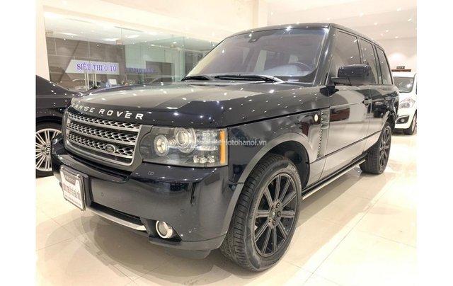 HCM: LandRover Range Rover Supercharged 5.0 2009, màu đen, xe nhập2