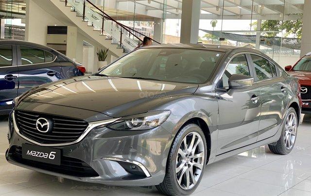 Bán Mazda 6 mới 2019-Thanh toán 283tr nhận xe-Hỗ trợ hồ sơ vay0