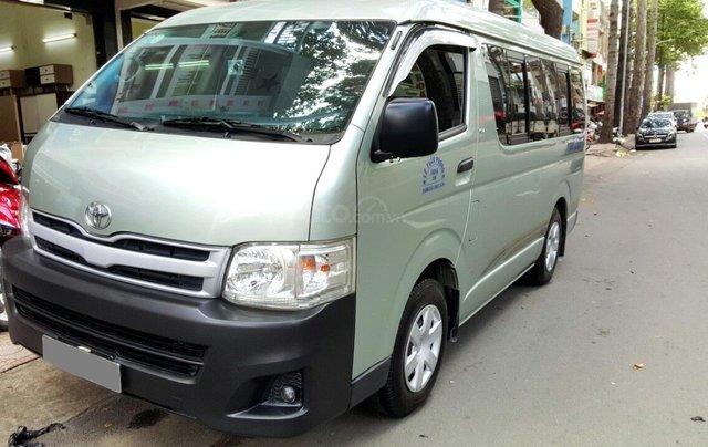 Bán ô tô Toyota Hiace 2011 máy xăng, giá chỉ 298tr, liên hệ Thanh0