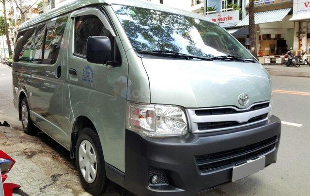 Bán ô tô Toyota Hiace 2011 máy xăng, giá chỉ 298tr, liên hệ Thanh2