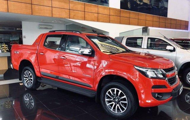 Bán Chevrolet Colorado 2019, màu đỏ cam, nhập khẩu0