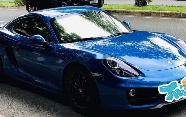 Cần bán Porsche Cayman 2015, màu xanh lam, nhập khẩu