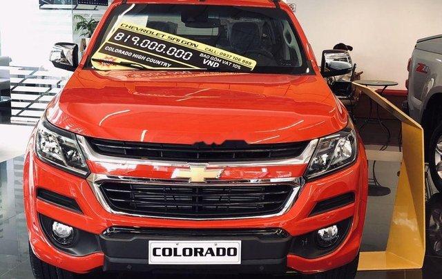 Bán Chevrolet Colorado 2019, màu đỏ cam, nhập khẩu7