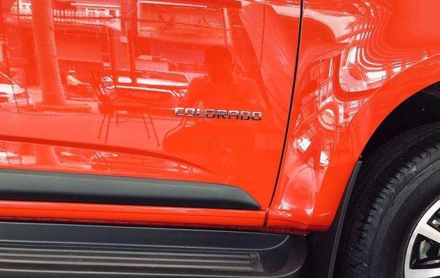Bán Chevrolet Colorado 2019, màu đỏ cam, nhập khẩu9
