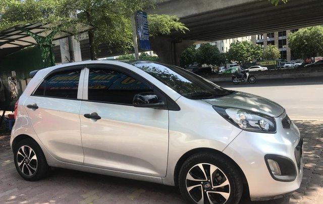 Cần bán xe Kia Morning Van đời 2014, màu xám (ghi)1
