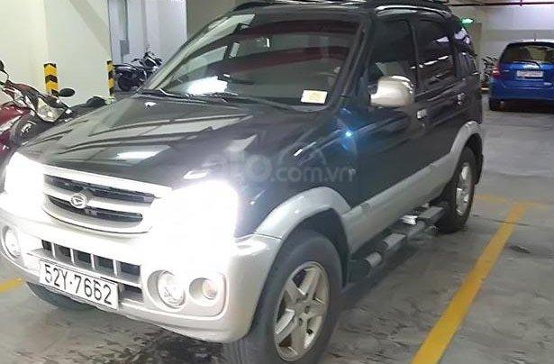 Cần bán lại xe Daihatsu Terios 1.3 4x4 MT 2005, màu đen, xe nhập 1