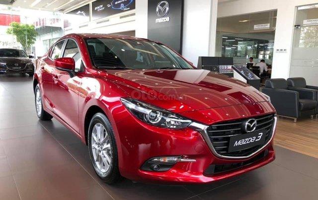 Bán xe Mazda 3 phiên bản 1.5L Sedan - Màu đỏ pha lê - Mới 100% - Hỗ trợ bank 85%0