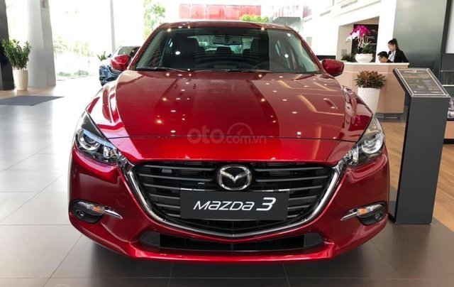 Bán xe Mazda 3 phiên bản 1.5L Sedan - Màu đỏ pha lê - Mới 100% - Hỗ trợ bank 85%1