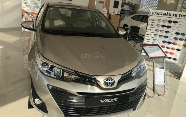 Bán Toyota Vios 1.5G cao cấp màu nâu vàng - giao xe ngay0