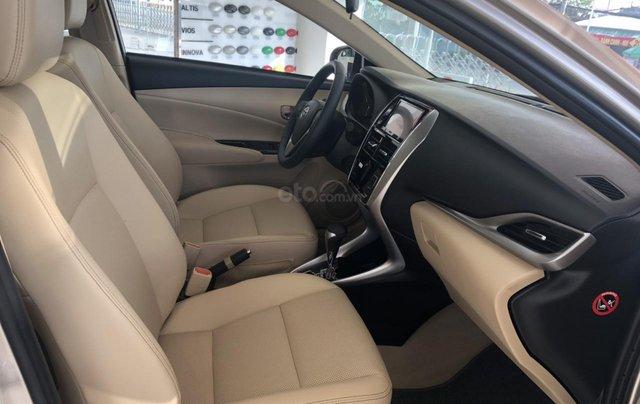 Bán Toyota Vios 1.5G cao cấp màu nâu vàng - giao xe ngay4