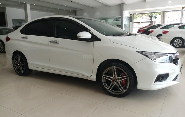 Bán Honda City 1.5CVT 2018, màu trắng, biển SG, giá chỉ 540tr còn TL1