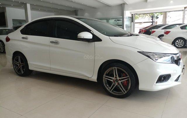 Bán Honda City 1.5CVT 2018, màu trắng, biển SG, giá chỉ 540tr còn TL3