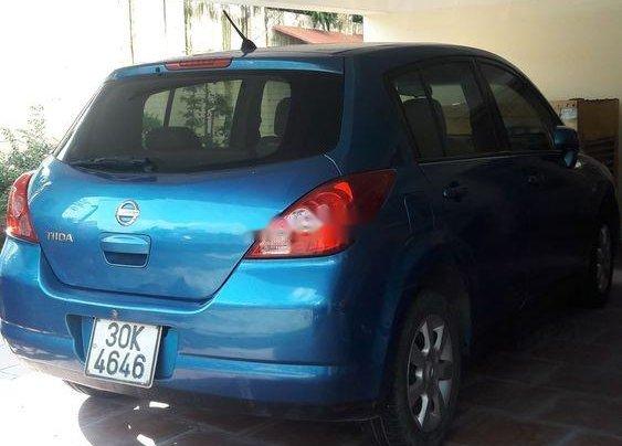 Cần bán gấp Nissan Tiida đời 2008, màu xanh lam, xe nhập