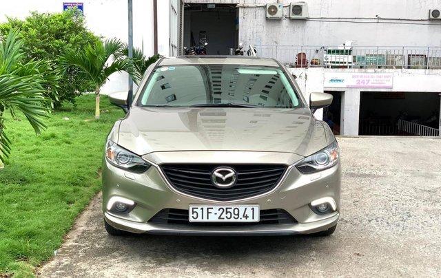 Bán Mazda 6 2.0 SX 2015, xe đẹp cá nhân cam kết chất lượng bao check hãng0