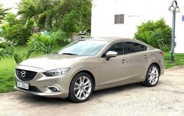 Bán Mazda 6 2.0 SX 2015, xe đẹp cá nhân cam kết chất lượng bao check hãng1