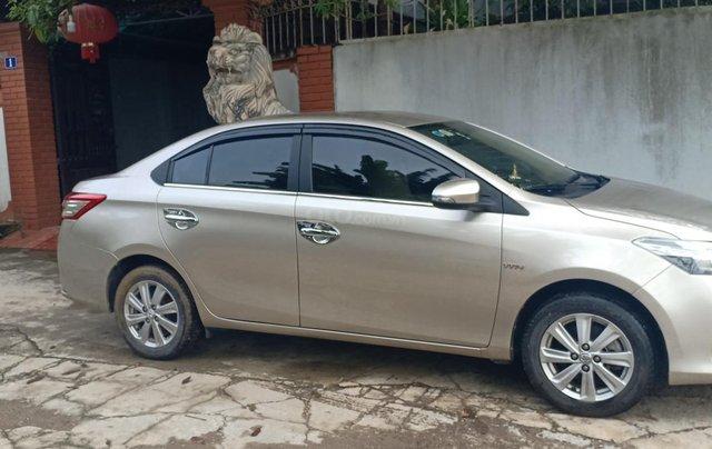 Bán Toyota Vios 1.5E 2016, màu vàng, giá 433tr. LH Anh Tuấn - SĐT 09666683481