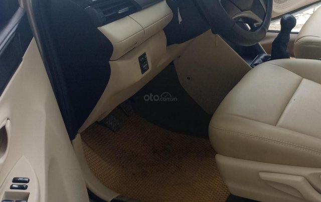 Bán Toyota Vios 1.5E 2016, màu vàng, giá 433tr. LH Anh Tuấn - SĐT 09666683482