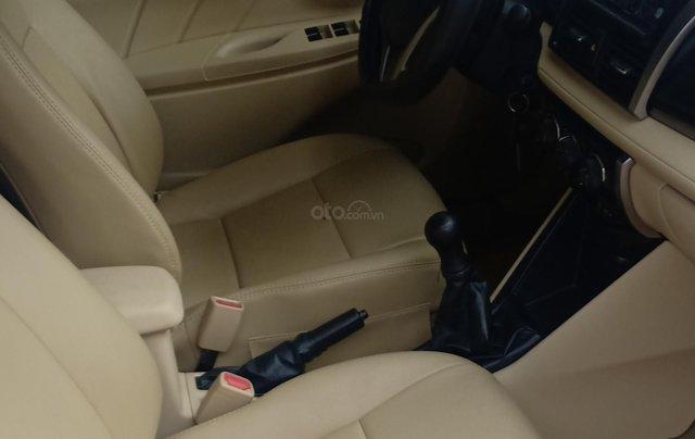 Bán Toyota Vios 1.5E 2016, màu vàng, giá 433tr. LH Anh Tuấn - SĐT 09666683483