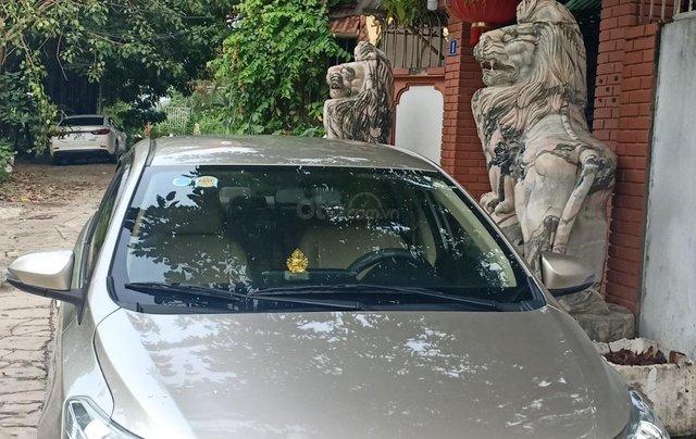 Bán Toyota Vios 1.5E 2016, màu vàng, giá 433tr. LH Anh Tuấn - SĐT 09666683485