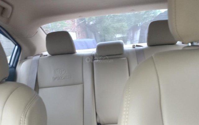 Bán Toyota Vios 1.5E 2016, màu vàng, giá 433tr. LH Anh Tuấn - SĐT 09666683487